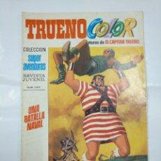 Livros de Banda Desenhada: CAPITAN TRUENO COLOR. COLECCION SUPER AVENTURAS Nº 47. UNA BATALLA NAVAL. Nº 1217. TDKC36. Lote 128327183