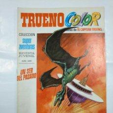 Tebeos: CAPITAN TRUENO COLOR. COLECCION SUPER AVENTURAS Nº 68. UN SER DEL PASADO. REVISTA Nº 1259. TDKC36. Lote 128332039