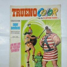 Tebeos: CAPITAN TRUENO COLOR. COLECCION SUPER AVENTURAS Nº 98. UN MILLON DE PUERCO-ESPINES Nº 1319. TDKC36. Lote 128332671