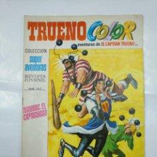 Tebeos: CAPITAN TRUENO COLOR. COLECCION SUPER AVENTURAS Nº 97. NAHUAC, EL CAPRICHOSO REVISTA Nº 1317. TDKC3. Lote 128332727