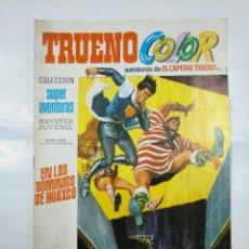 Tebeos: CAPITAN TRUENO COLOR. COLECCION SUPER AVENTURAS Nº 96. EN LOS DOMINIOS DE HUAXCO. Nº 1315. TDKC3. Lote 128332827