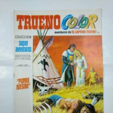 Tebeos: CAPITAN TRUENO COLOR. COLECCION SUPER AVENTURAS Nº 95. PUMA NEGRO. REVISTA Nº 1313. TDKC36. Lote 128332883