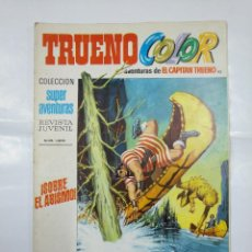 Tebeos: CAPITAN TRUENO COLOR. COLECCION SUPER AVENTURAS Nº 93. ¡SOBRE EL ABISMO! REVISTA Nº 1309. TDKC36. Lote 128332999