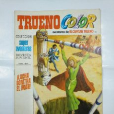 Tebeos: CAPITAN TRUENO COLOR. COLECCION SUPER AVENTURAS Nº 92. LUCHA CONTRA EL MAR. REVISTA Nº 1307. TDKC36. Lote 128333119