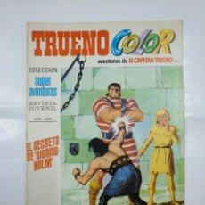 Tebeos: CAPITAN TRUENO COLOR. COLECCION SUPER AVENTURAS Nº 91. EL SECRETO DE SIGRIDS-HOLM. Nº 1305. TDKC3. Lote 128333251
