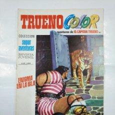 Tebeos: CAPITAN TRUENO COLOR. COLECCION SUPER AVENTURAS Nº 88. ENIGMA EN LA ISLA. REVISTA Nº 1299. TDKC36. Lote 128333499