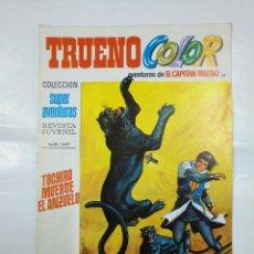 Tebeos: CAPITAN TRUENO COLOR. COLECCION SUPER AVENTURAS Nº 87. TOCHIRO MUERDE EL ANZUELO Nº 1297. TDKC36. Lote 128333895