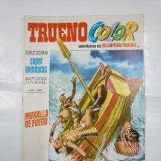 Tebeos: CAPITAN TRUENO COLOR. COLECCION SUPER AVENTURAS Nº 86. MURALLA DE FUEGO. REVISTA Nº 1295. TDKC36. Lote 128333963