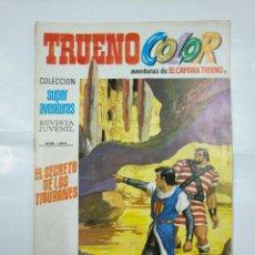 Tebeos: CAPITAN TRUENO COLOR. COLECCION SUPER AVENTURAS Nº 85. EL SECRETO DE LOS TIBURONES. Nº 1293. TDKC36. Lote 128334039
