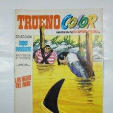 Tebeos: CAPITAN TRUENO COLOR. COLECCION SUPER AVENTURAS Nº 84. LOS HIJOS DEL MAR. REVISTA Nº 1291. TDKC36. Lote 128334123