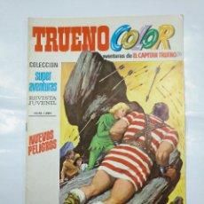 Tebeos: CAPITAN TRUENO COLOR. COLECCION SUPER AVENTURAS Nº 80. NUEVOS PELIGROS. REVISTA Nº 1283. TDKC36. Lote 128334479