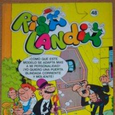 Tebeos: RISALANDIA CON 3 COMICS 48 ROMPETECHOS 44 Y 45 PEPE GOTERA Y OTILIO Nº 4 BRUGUERA 1985 NUEVO. Lote 128389631