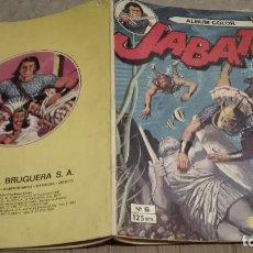 Tebeos: TEBEO JABATO. ALBUM COLOR. Nº 6. LA CIUDAD SUMERGIDA. EDITORIAL BRUGUERA. 1981. Lote 128410879