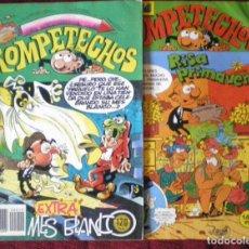 Tebeos: 4 COMIC ROMPETECHOS Nº19-43-49-85 BRUGUERA 1983-1985 NUEVO. Lote 128416211