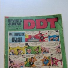 Tebeos: DDT Nº 218, AÑO XX, ÉPOCA III. BRUGUERA CS136. Lote 128437135