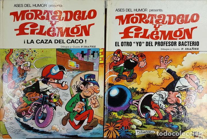 COLECCIÓN DE 20 TEBEOS DE MORTADELO Y FILEMON. EDIT. BRUGUERA. F. IBAÑEZ. (Tebeos y Comics - Bruguera - Mortadelo)
