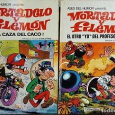 Tebeos: COLECCIÓN DE 20 TEBEOS DE MORTADELO Y FILEMON. EDIT. BRUGUERA. F. IBAÑEZ. . Lote 128452503