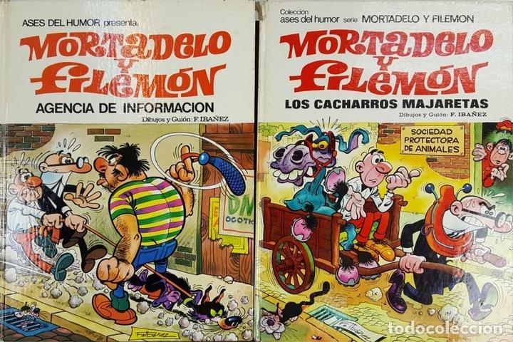 Tebeos: COLECCIÓN DE 20 TEBEOS DE MORTADELO Y FILEMON. EDIT. BRUGUERA. F. IBAÑEZ. - Foto 13 - 128452503