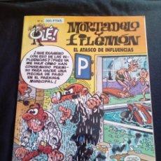 Tebeos: MORTADELO Y FILEMÓN 3 EL ATASCO DE INFLUENCIAS PRIMERA EDICION 1993. Lote 128471135