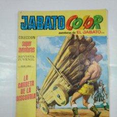 Tebeos: COLECCION SUPER AVENTURAS EL JABATO COLOR. N 210. REVISTA Nº 1600. LA CARRETA DE LA DISCORDIA TDKC36. Lote 128472431