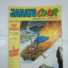 Tebeos: COLECCION SUPER AVENTURAS EL JABATO COLOR. Nº 212. REVISTA Nº 1604. EL SILENCIO BLANCO. TDKC36. Lote 128474339