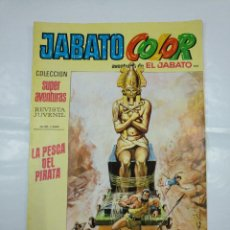 Tebeos: COLECCION SUPER AVENTURAS EL JABATO COLOR. Nº 182. REVISTA Nº 1544. LA PESCA DEL PIRATA TDKC36. Lote 128474419