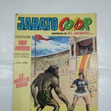 Tebeos: COLECCION SUPER AVENTURAS EL JABATO COLOR. Nº 143. REVISTA Nº 1890. LA MUERTE AL ACECHO. TDKC36. Lote 128474527