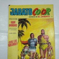 Tebeos: COLECCION SUPER AVENTURAS EL JABATO COLOR. Nº 133. REVISTA Nº 1870. CON LOS BUKAMOS. TDKC36. Lote 128474639