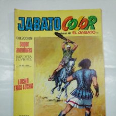 Tebeos: COLECCION SUPER AVENTURAS EL JABATO COLOR. Nº 25. REVISTA Nº 1654. LUCHA TRAS LUCHA. TDKC36. Lote 128474807
