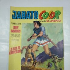 Tebeos: COLECCION SUPER AVENTURAS EL JABATO COLOR. Nº 14. REVISTA Nº 1208. LA HIJA DE KIMBERLAN. TDKC36. Lote 128475023