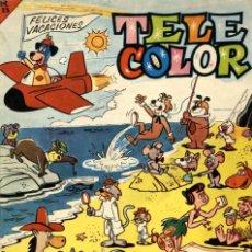 Tebeos: TELE COLOR EXTRA DE VACACIONES (BRUGUERA, 1964). Lote 128486039