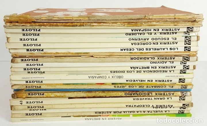 Tebeos: COLECCION DE 22 COMICS DE ASTERIX. GOSCINNY. EDIT. BRUGUERA. VARIAS EDICIONES. - Foto 2 - 128504623