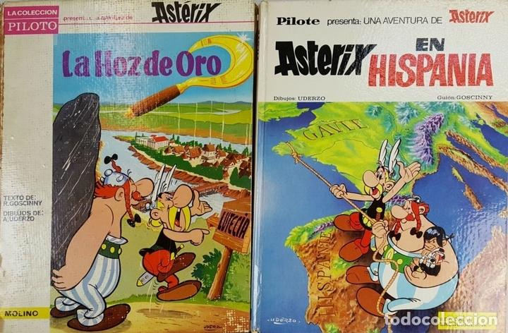 Tebeos: COLECCION DE 22 COMICS DE ASTERIX. GOSCINNY. EDIT. BRUGUERA. VARIAS EDICIONES. - Foto 3 - 128504623