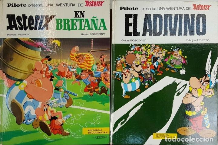 Tebeos: COLECCION DE 22 COMICS DE ASTERIX. GOSCINNY. EDIT. BRUGUERA. VARIAS EDICIONES. - Foto 8 - 128504623
