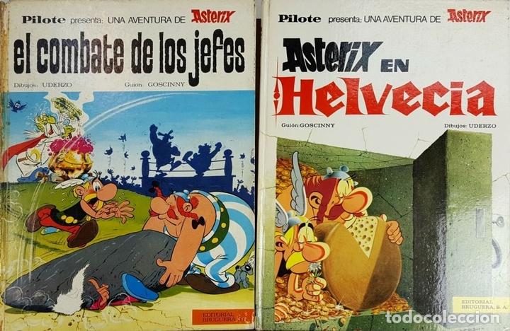 Tebeos: COLECCION DE 22 COMICS DE ASTERIX. GOSCINNY. EDIT. BRUGUERA. VARIAS EDICIONES. - Foto 9 - 128504623