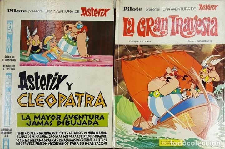 Tebeos: COLECCION DE 22 COMICS DE ASTERIX. GOSCINNY. EDIT. BRUGUERA. VARIAS EDICIONES. - Foto 11 - 128504623