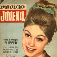 Tebeos: MUNDO JUVENIL-44 (BRUGUERA, 1963) REVISTA DE LOS AMIGOS DE MARISOL. Lote 128530631