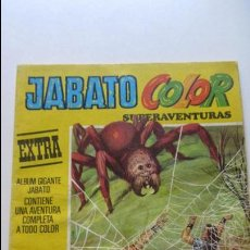Tebeos: JABATO COLOR ALBUM AMARILLO SEGUNDA EPOCA Nº 36 BRUGUERA CS136. Lote 128536983
