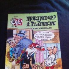 Tebeos: MORTADELO Y FILEMÓN 101 EL PLANO DE ALI GUSA NO PRIMERA EDICIÓN 1995. Lote 128542123