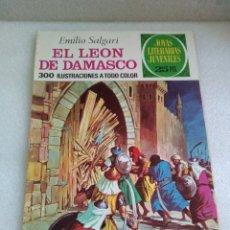 Tebeos: JOYAS LITERARIAS JUVENILES Nº 81 EL LEÓN DE DAMASCO. BRUGUERA 1976 25 PTS. Lote 135560727