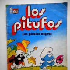 Livros de Banda Desenhada: LOS PITUFOS Nº 2 LOS PITUFOS NEGROS ( BRUGUERA ). Lote 128608099