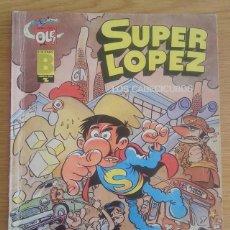 Tebeos: COMIC TEBEO DE SUPER LOPEZ AÑO 1987 TITULADO LOS CABECICUBOS TERCERA EDICIÓN. OLE. EDICIONES B. Lote 128614343