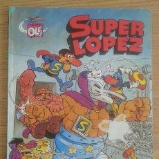 Tebeos: COMIC TEBEO SUPER LOPEZ AÑO 1988 TITULADO TODOS CONTRA UNO, UNO CONTRA TODOS. PRIMERA EDICIÓN. Lote 128615115