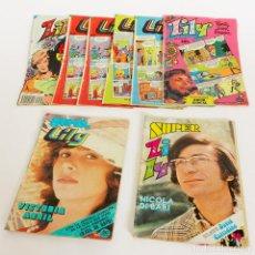 Tebeos: LOTE 2 REVISTAS SUPER LILY Y 6 LILY AÑOS 1977-1982 EDITORIAL BRUGUERA . Lote 128626799