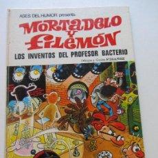 Tebeos: ASES DEL HUMOR. Nº 14. MORTADELO Y FILEMÓN. LOS INVENTOS DEL PROFESOR BACTERIO. 1972. CS136. Lote 128629827