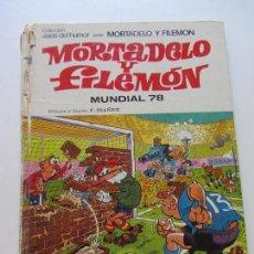 Tebeos: ASES DEL HUMOR. MORTADELO Y FILEMÓN. Nº 36. MUNDIAL´78. BRUGUERA 1978 . CS136. Lote 128629875