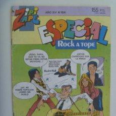 Tebeos: REVISTA ZIPI Y ZAPE Nº 164 , ESPECIAL ROCK A TOPE . Lote 128641995