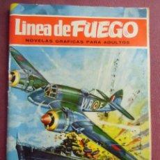 Tebeos: LINEA DE FUEGO Nº 39-LA GRAN EVASIÓN-BRUGUERA 1967, 6 PTAS.. Lote 128642603