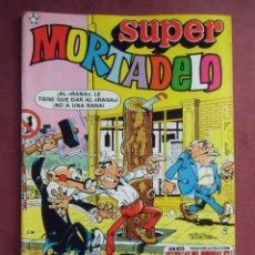 Tebeos: SUPER MORTADELO.Nº 127 - 1982 - 52 PÁGINAS IMPECABLE.. Lote 128645731