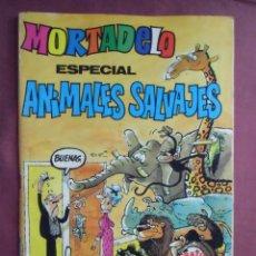 Tebeos: MORTADELO. ESPECIAL ANIMALES SALVAJES- Nº 130, 1982. 100 PÁGINAS , B/C.. Lote 128645983